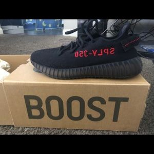 Yezzy 350 Boost V2 Red/Blk